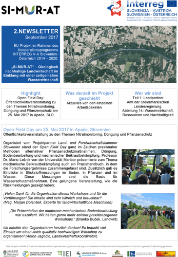 2. Newsletter SI-MUR-AT